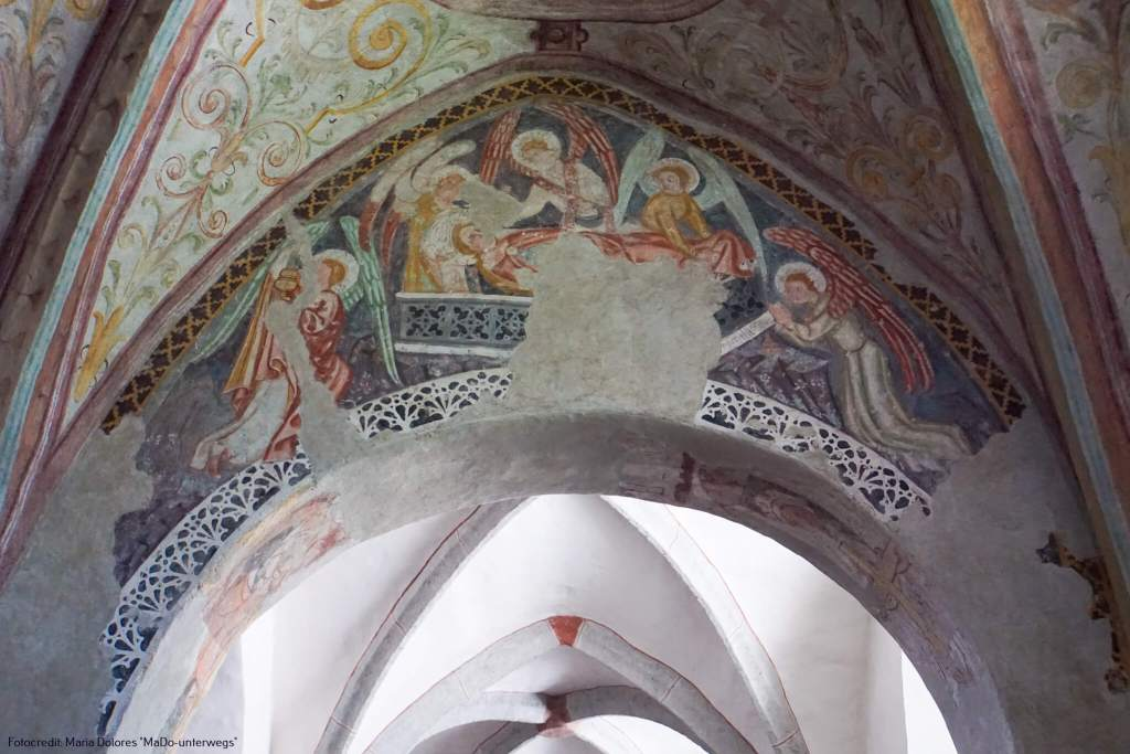 Pfarrkirche St. Hippolyt: Fresken_Zell am See [10 Tage Roadtrip Salzburg]