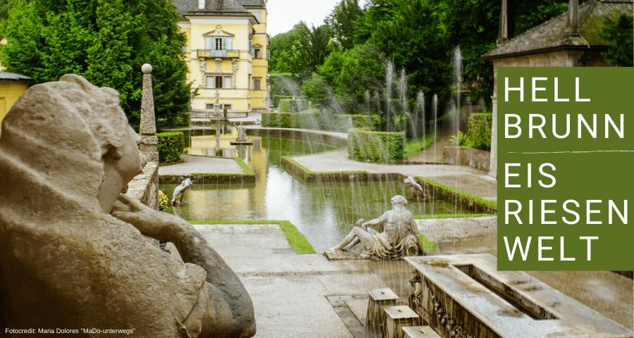Wasserspiele Hellbrunn: Römisches Theater und Fürstentisch [10 Tage Roadtrip Salzburg]