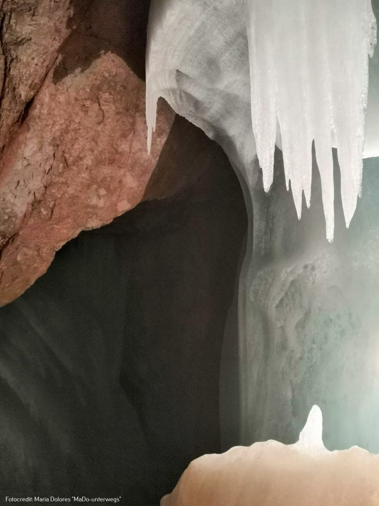 in der Eisriesenwelt Werfen [10 Tage Roadtrip Salzburg]