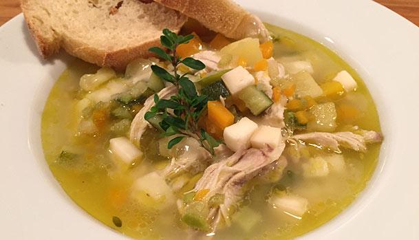 Sensommer suppe