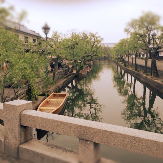 岡山倉敷美観地区