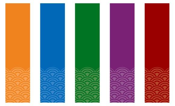 五色の短冊