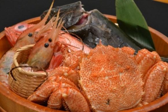 お歳暮の蟹