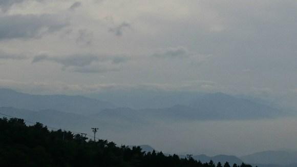 雲辺寺の雲海
