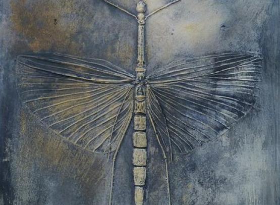 ceramique art artiste création insecte papillon libellule phasme terre bretagne angers Loire