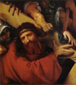 300px-Lotto-lorenzo_Keresztet_cipelő_Krisztus_(1526)