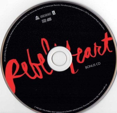 Rebel Heart FNAC edition (France) - Madonnaunderground