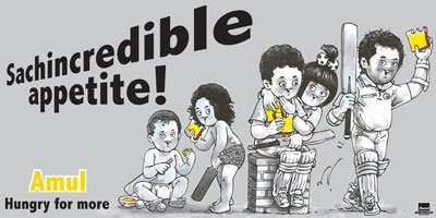 Sachin Tendulkar's Incredible Journey Through Amul