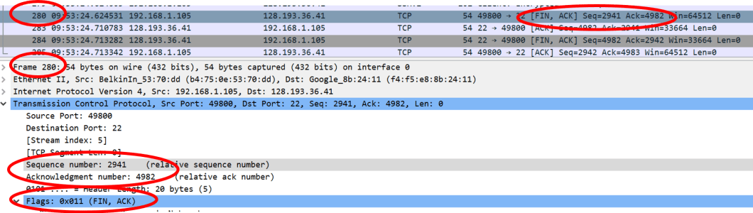 TCP Connection Close – What does it look like in Wireshark – MadPackets