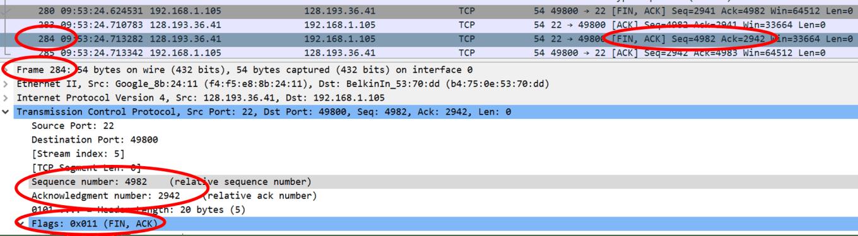TCP-server-FIN