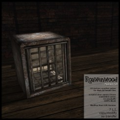 Roawenwood Padded Cell - Hunt Version - Silver Prize