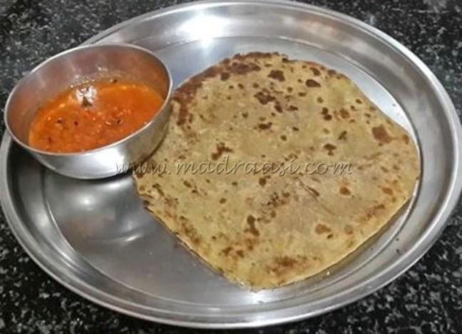 Gobi paratha / Cauliflower paratha
