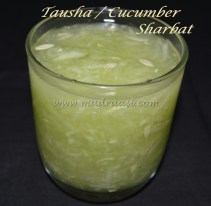 Tausha / Cucumber Sharbat