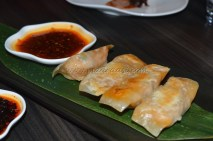 Baked Vegetarian Chicken Puff, name sound funny