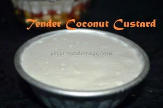 Tender Coconut / Yelaneer Custard