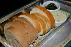 Crispy Pesto Bread