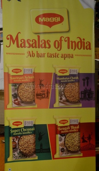 Lauch of New Flavors of Maggi Masala, Bangalore