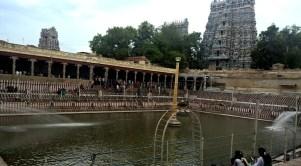 Meenakshi Amman Temple Theppakulam (sacret pond)