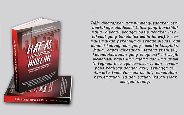 Buku Nafas Cendekiawan Muslim karya IMM Jaksel/Dok.IMM