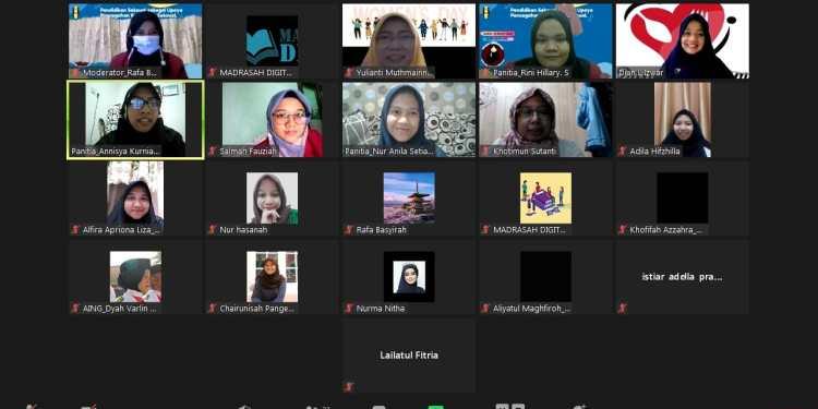 "Korps IMMawati Cabang Jakarta Selatan menggelar webinar bertajuk ""Pendidikan Seksual Sebagai Upaya Pencegahan Kekerasan Seksual"" melalui telekonferensi Zoom Meeting, Sabtu (13/3/2021)"