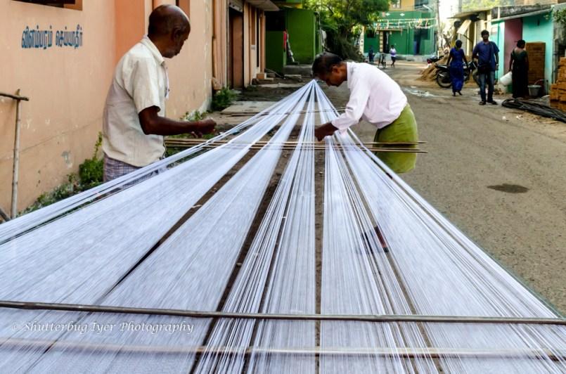 The lungi weavers of Thirumazhisai