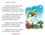 Photo of Poème météorologie livre de lecture de 4 ème année