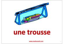 Photo of fourniture scolaire affichage de classe