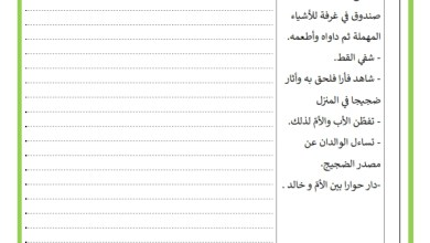 Photo of تقييم السداسي الثاني في مادة الانتاج الكتابي السنة الثالثة
