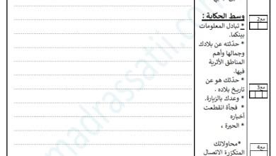 Photo of تقييم السداسي الثاني في مادة الانتاج الكتابي السنة الثالثة – صداقة عبر النت