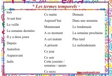 Photo of Les termes temporels