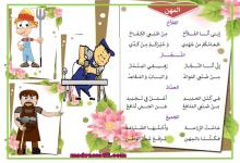 Photo of محفوظات المهن مهنة الفلاح النجار الحداد