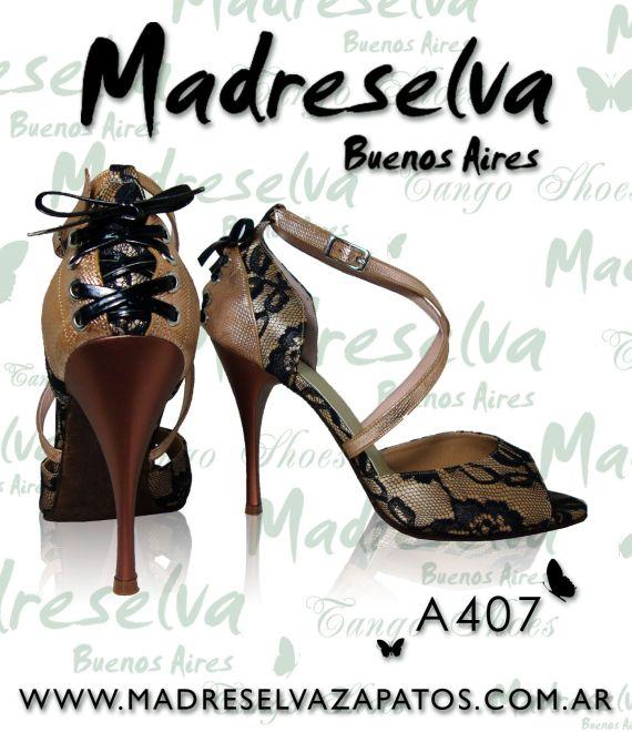 Zapatos de Tango A407
