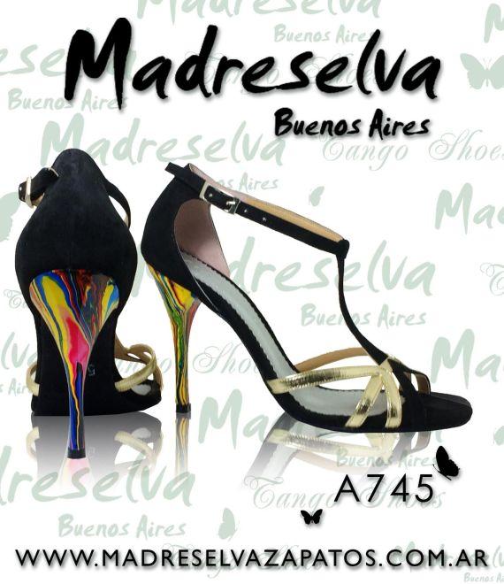 Zapatos de Tango A745