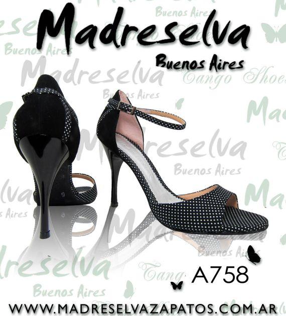 Zapatos de Tango A758