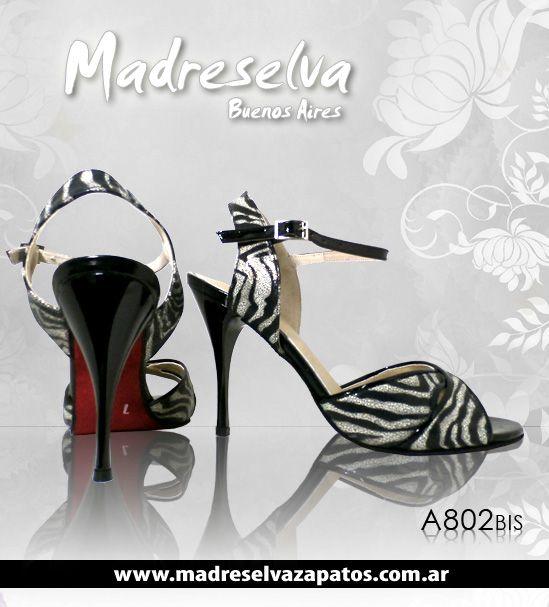 Zapatos de Tango A802bis