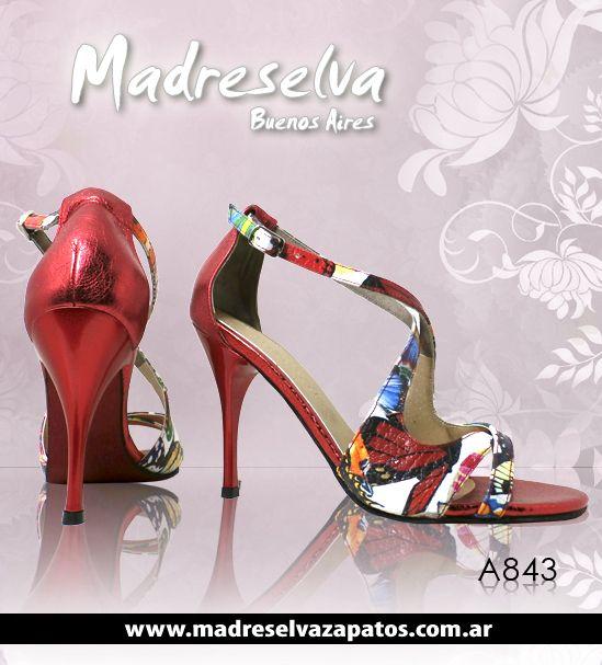 Zapatos de Tango A843