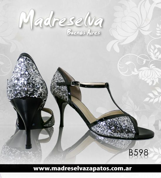 Zapatos de Tango B598