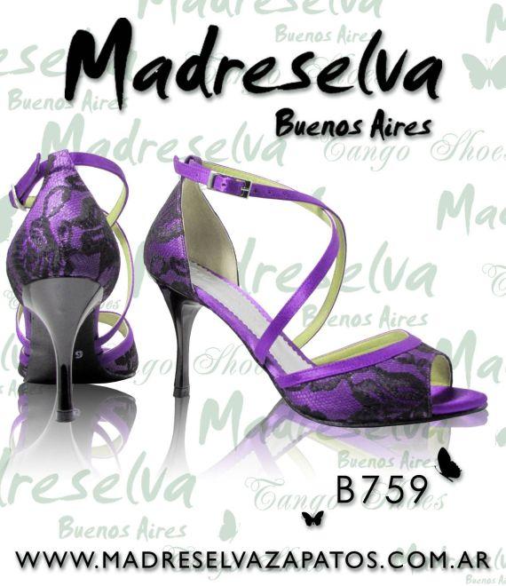 Zapatos de Tango B759
