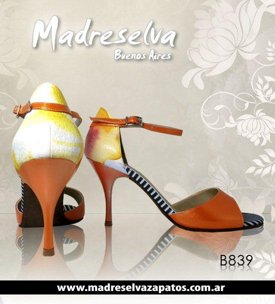 Zapatos de Tango B839