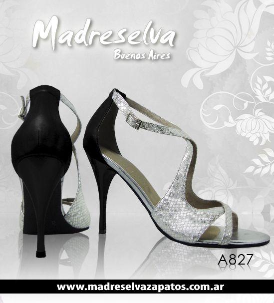 Zapatos de Tango A827n