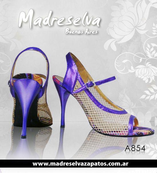 Zapatos de Tango A854