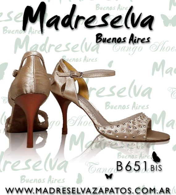 Zapatos de Tango B651bis