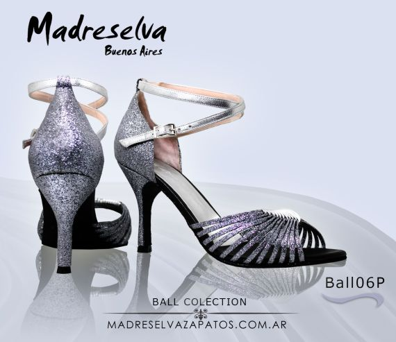 Zapatos de Salsa y Bachata Ball 06p