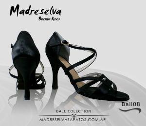 Salsa and Bachata Shoes ball08black