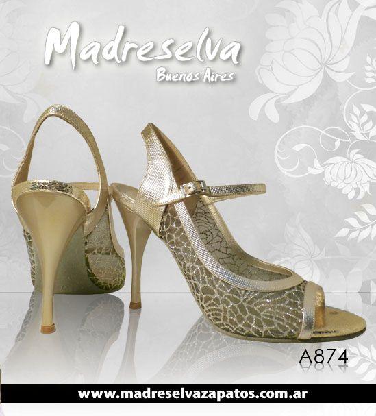 Zapatos de Tango A874