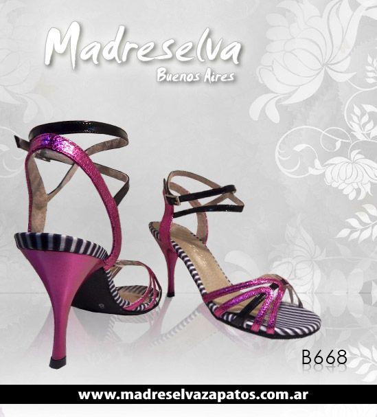 Zapatos de Tango B668