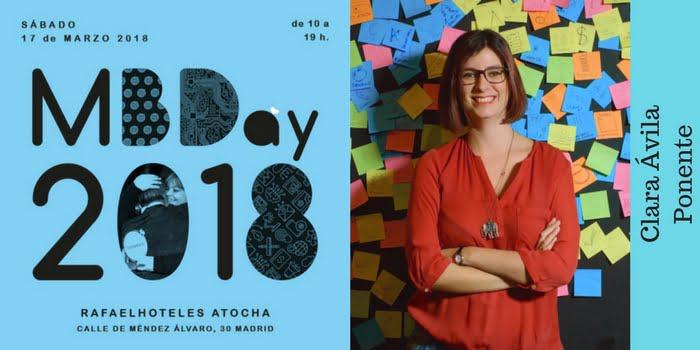 Ponente #Mbday18. Clara Ávila