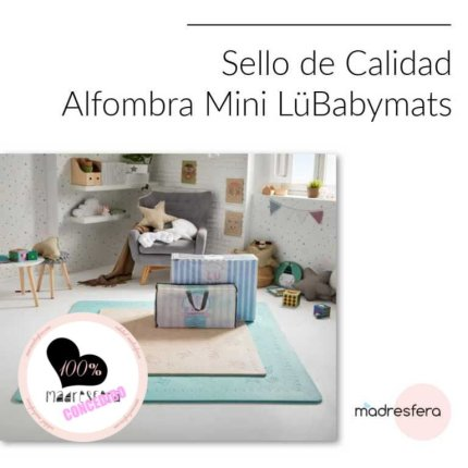 sello mini LüBabymats, madresfera