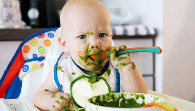 Hasta después de 5 meses, el bebé puede reconocer el sabor de la sal