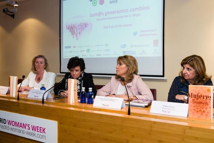 El movimiento 'Mujeres sin Maquillar' en MADRID WOMAN'S WEEK 2017.